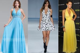 Este vestido é clássico e nunca sai de moda e uma ótima opção para o verão. Pode ser feito curto ou longo e, dependendo do tecido, fica um lindo vestido de festa. Segue esquemas de modelagem do 36 ao 56.