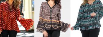 Uma blusa que veste bem qualquer tamanho. Segue esquema de modelagem do 36 ao 56.