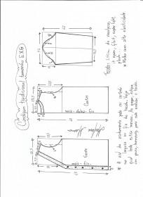 Esquema de modelagem de cardigan tamanho EXG (54)